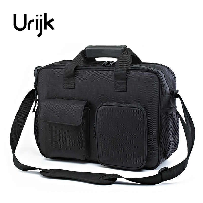 Urijk Oxford Decoration Tool Bag Electric Repairing Hand Tools Wearable Satchel Multifunction Screwdriver Pliers Scissors Knife jumpro mother s day gift 77pc ladies tools pink tool set home tool hammers pliers knife screwdrivers wrenches tapes hand tool