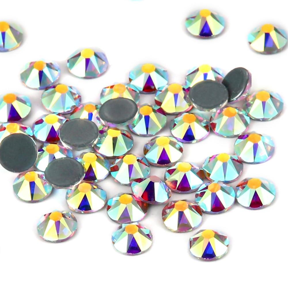 2078 cut  hotfix  rhinestone crystal ab (2)