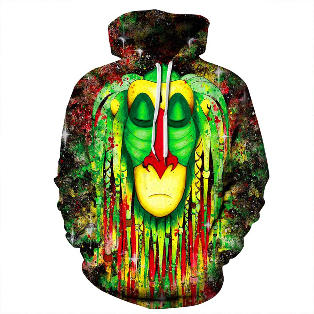 New Fashion Sweatshirts Men/Women Couples 3D Hoodies Colorful Printed Hooded Hoodies Thin Pullovers Lovers Coat Clothing