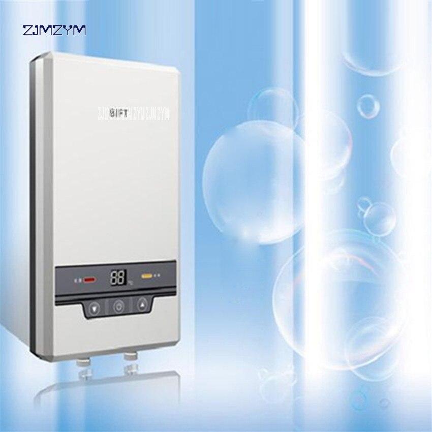 Calentador de agua de baño de 8500 W, inducción sin tanque eléctrica, ducha de agua caliente sin fin instantánea al dormitorio de la escuela del hotel BK506A