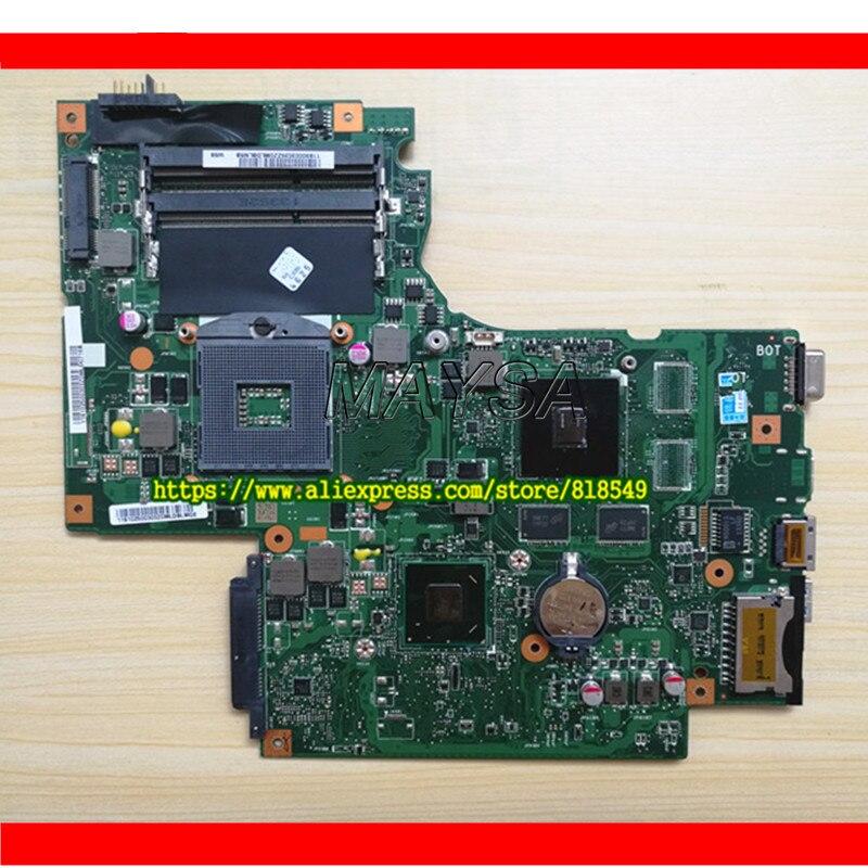 Oryginalna płyta główna laptopa HM76 układu BAMBI płyty głównej REV: 2.1 nadaje się do Lenovo G700 notebook pc Siedzenie pojazdu z GT 720M graficzny