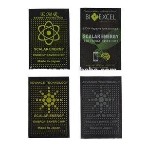 Image 5 - 50 stücke Bio Skalare Energie Saver Chip Voraus Technologie Schild Anti Strahlung Aufkleber skalare energie chip 4g 5g wifi schutz