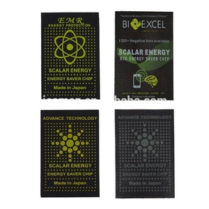 Image 5 - 50pcs Bio Scalar Energy Saver Chip Advance Technology Shield Anti Radiation Sticker scalar energy chip 4g 5g wifi protection
