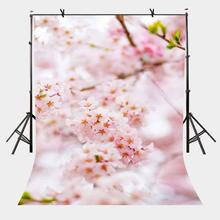 5x7ft Blurred Backdrop Blur Blurred Peach Blossom Photography Background and Studio Photography Backdrop Props 7x5ft peach blossom backdrop beautiful pink peach photography background and studio photography backdrop props