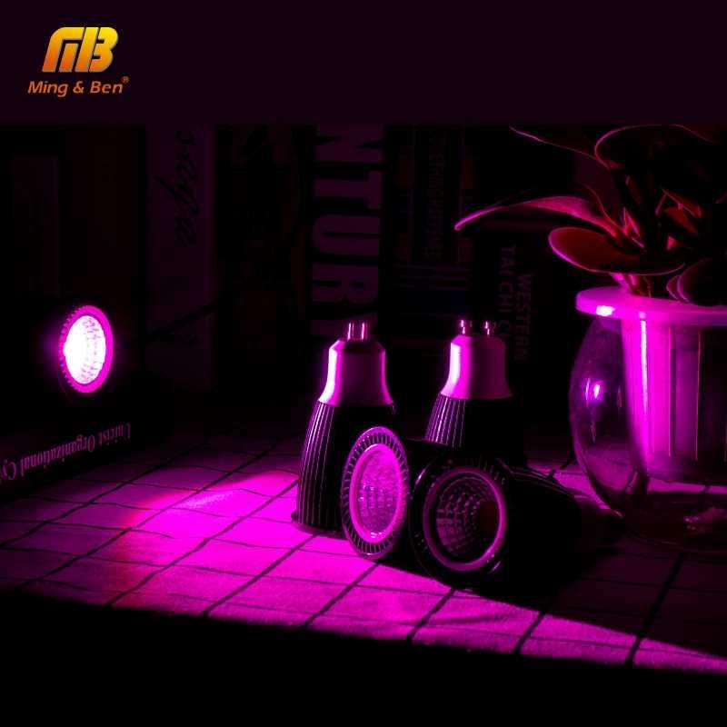 LED לגדול זרקור GU10 MR16 E27 E14 Fitolamp LED הנורה ספוט אור פיטו מנורת 5 w 7 w 9 w 12 w 220 v הנורה גידול עבור צמח חממה