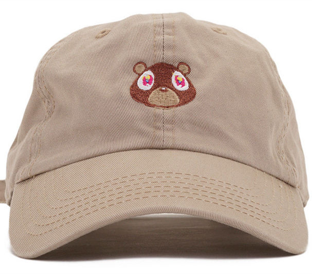 Dad Hat Kanye West Ye Bear Baseball Cap Fashion Summer Men Women Snapback Unisex Exclusive Release Hip Hop Hot Style Hats