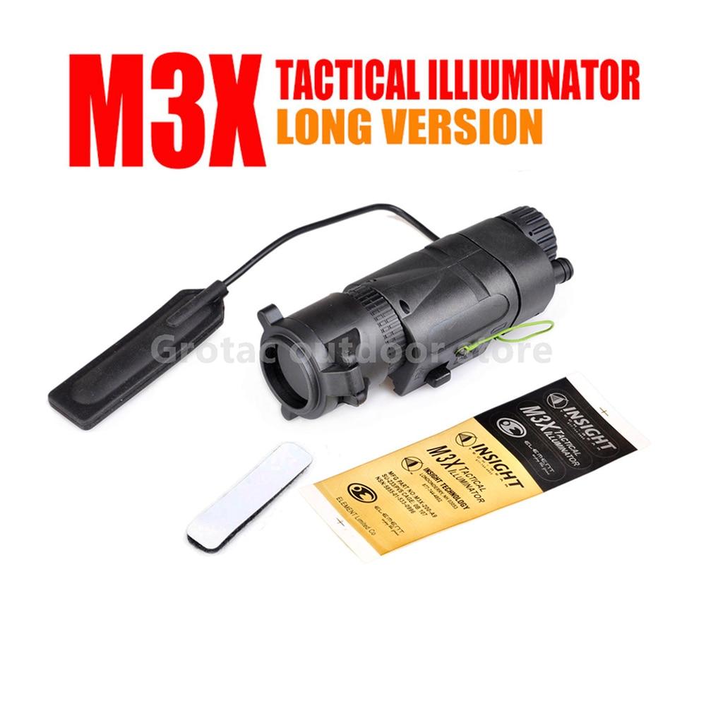 Tactical L-3 Warrior Systems Flash light M3X Tactical Illuminator Long new Version