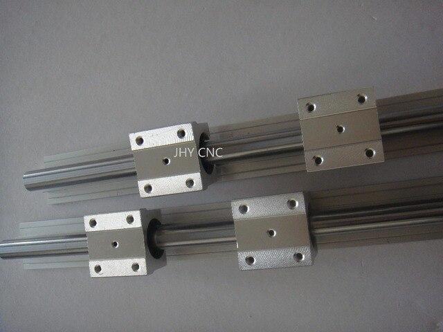 2 SBR20-1150mm 20 мм полностью поддерживается линейного рельса ВАЛА стержень с 4 SBR20UU