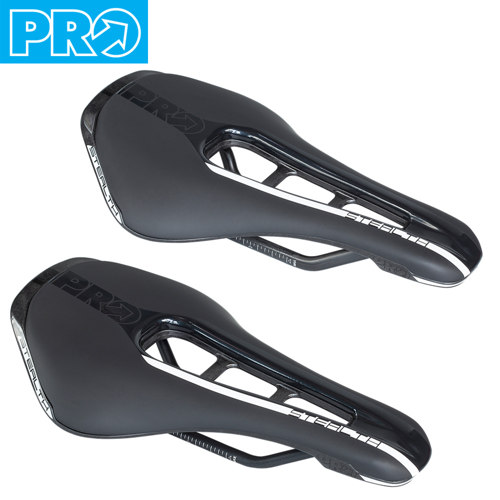 SHIMANO PRO STEALTH Road Bike Saddle Carbon Steel Rails Bicyle Cycling