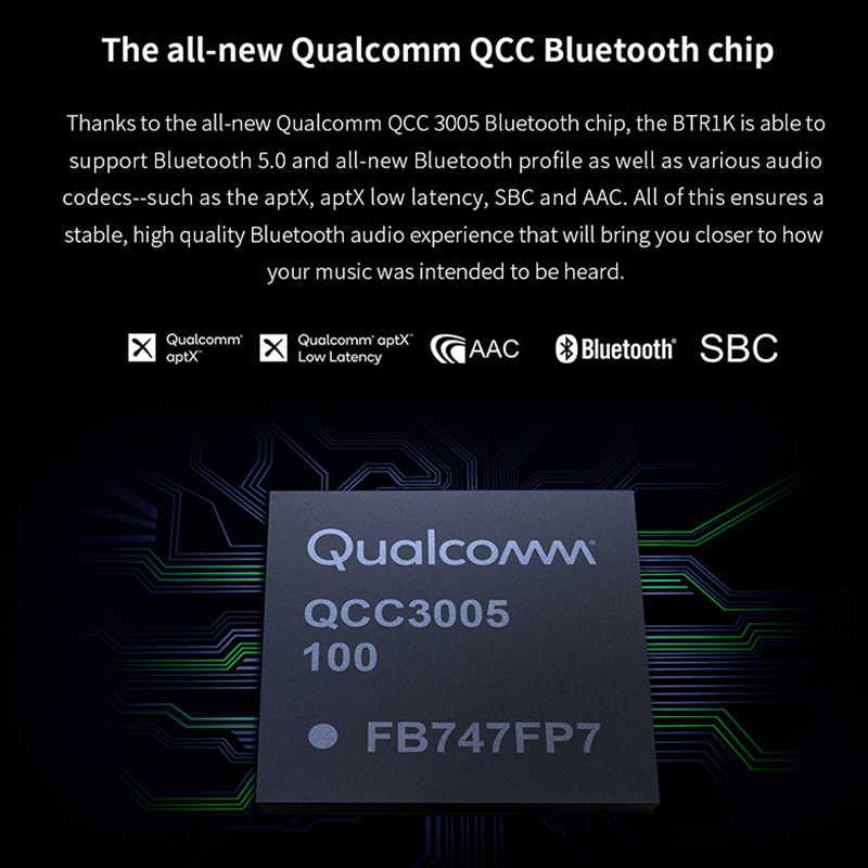 15b6763d032 ... FIIO BTR1K Wireless Bluetooth 5.0 Portable Headphone Amplifier  Noise-Cancelling USB DAC Audio Receiver with ...