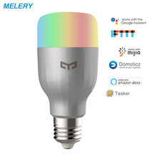 WiFi Smart LED Light Bulb Remote Control Dimmable RGB Color Changing 60W Equivalent E26 Compatible Alexa,Google Home IFTTT(China)