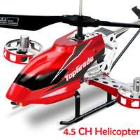 Big size 3.5CH 4.5CH electric outdoor RC AIRCRAFT altitude hold helicopter remote control unbreakable helicopters LED toy model