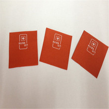 Customized Garment Woven Label High Density Clothing