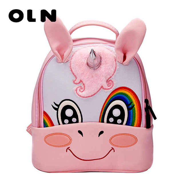 37230edbf0 2018 3D Cartoon Plush Children Backpacks kindergarten Schoolbag Animal Kids  Backpack Children School Bags Girls Boys Backpacks