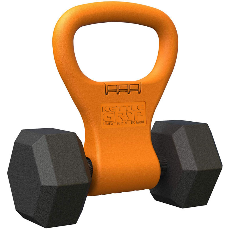 Fitness musculation Kettlebell poignée pour haltère réglable Portable poignée de poids Muscle haltérophilie équipement d'entraînement à domicile