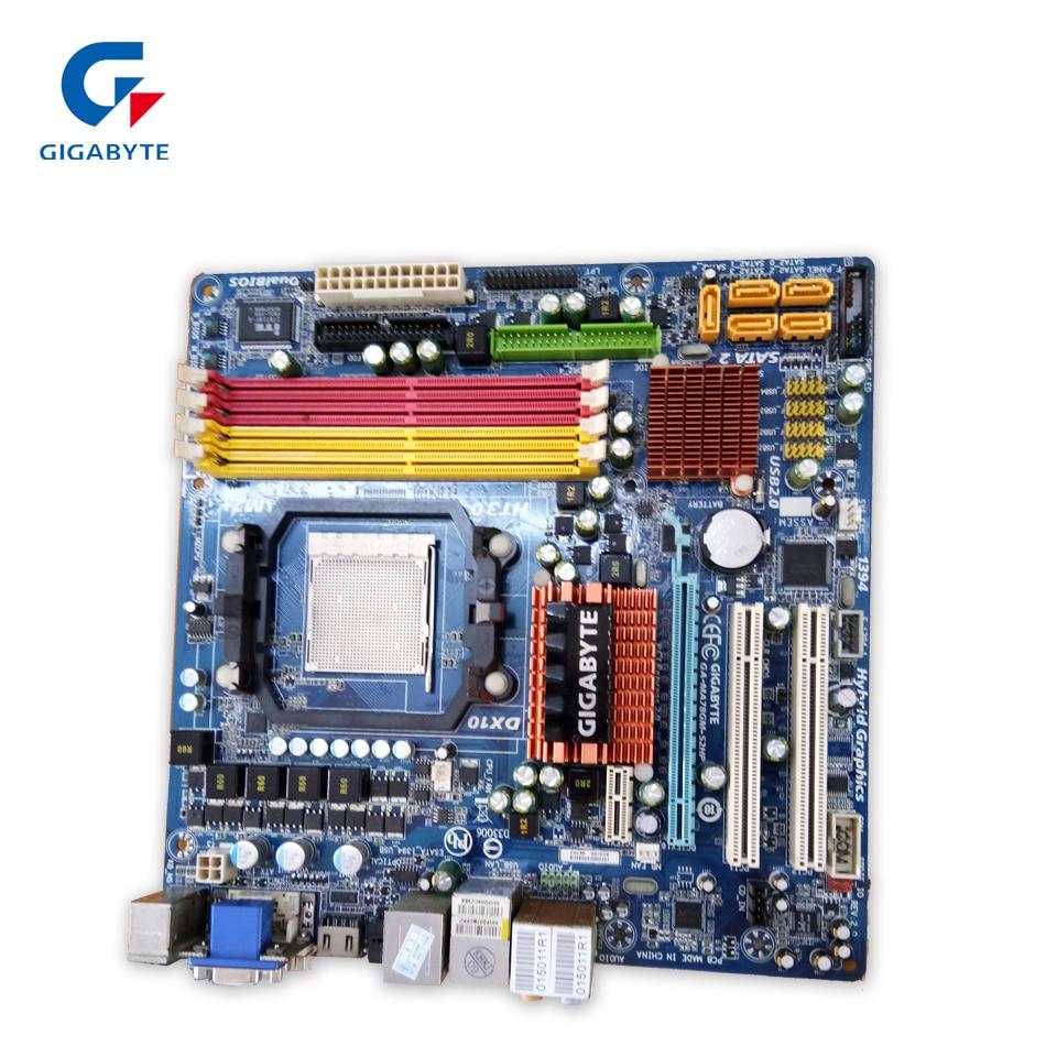 все цены на  Gigabyte GA-MA78GM-S2HP Original Used Desktop Motherboard MA78GM-S2HP 780G Socket AM2 DDR2 SATA2 USB2.0 Micro ATX  онлайн