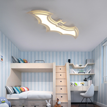 Batman led ceiling lights for kids room Bedroom balcony home Dec AC85-265V acrylic modern led ceiling lamp for childroom room цена