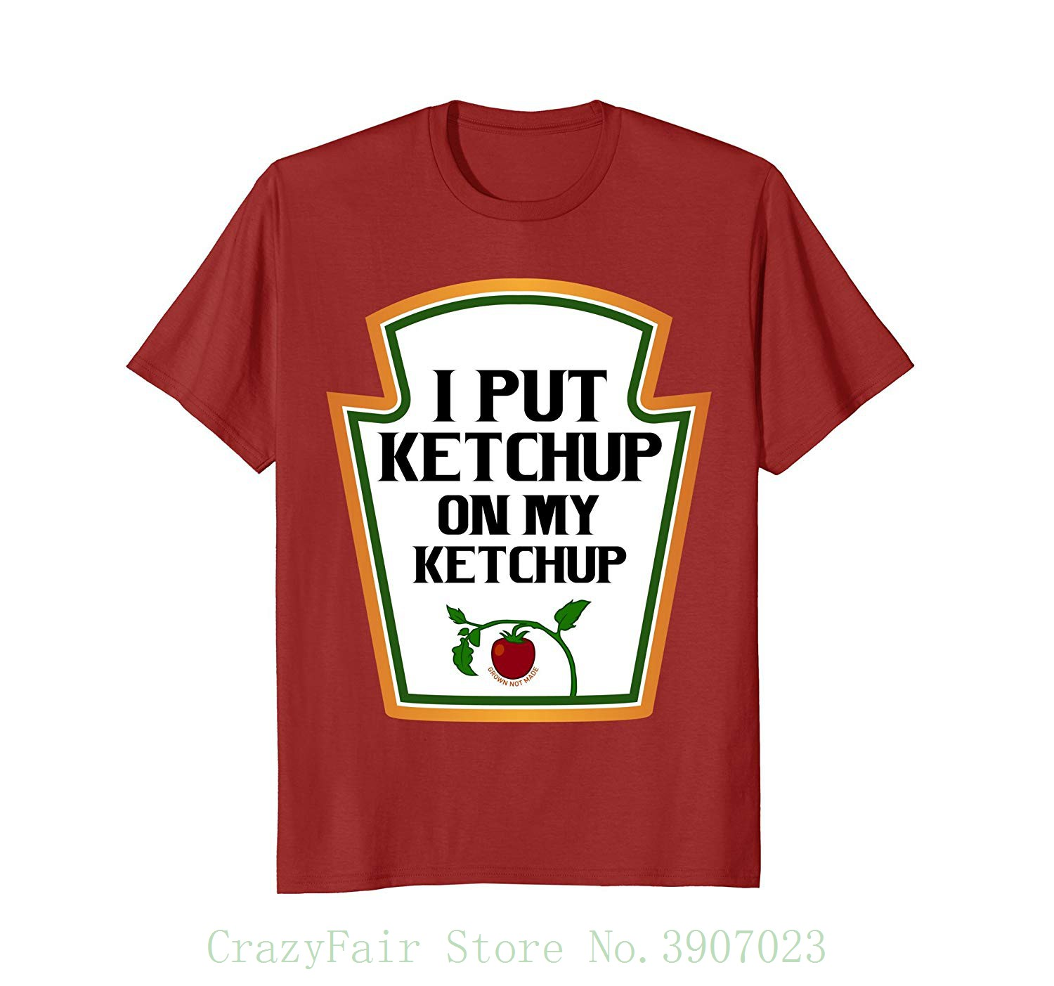 ccbc010d7 Buy t shirt no ketchup and get free shipping on AliExpress.com