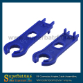 Superbat MC4 Spanner,2pcs MC4 solar connector disconnecting tool spanners,Tightening Tool