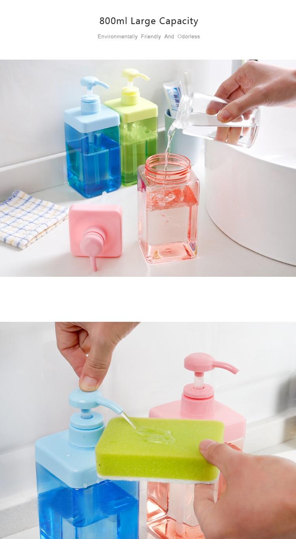 HTB1XNciazzuK1Rjy0Fpq6yEpFXaR OYOURLIFE 800ml High Capacity Liquid Soap Dispenser Cosmetics Bottles Bathroom Hand Sanitizer Shampoo Body Wash Lotion Bottle