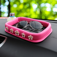 The Idea Of Auto Supplies Fashionable Lady Set Auger Little Daisy On Board Vehicle Instrument Desk