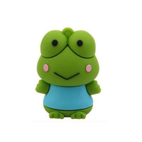 cartoon usb flash drive lovely frog model usb flash drive 4GB 8GB/16GB/32GB USB flash drive memory stick BB S259#20