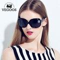 VEGOOS Luxo Marca Designer Polarized Óculos De Sol das mulheres de Condução Óculos de Sol Polaroid Moda Grande Quadro Frete Grátis Novo #9039