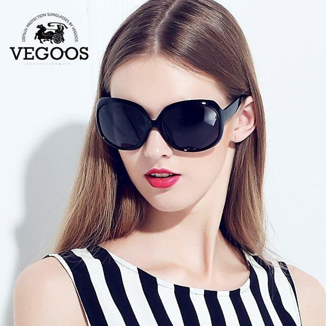 dd7be11168 VEGOOS Luxury Brand Designer Polarized Sunglasses women Driving Sun Glasses  Polaroid Fashion Big Frame Free Shipping