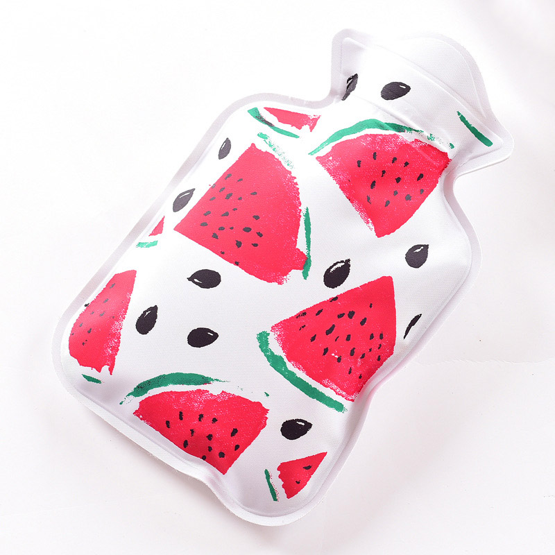 Hot Bottle Mini Handy PVC Water-filled Type Warm Hand Treasure Cartoon Water Bag Container Hogard ...