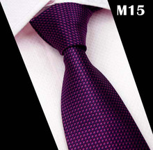 New Striped Purple Neck Ties For Men Slim Tie
