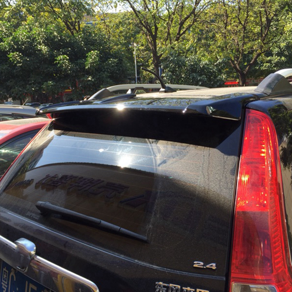 MONTFORD Car Accessories Exterior ABS Plastic Unpainted Primer Rear Wing Spoiler Fit For Honda CRV CR-V 2007 2008 2009 2010 2011MONTFORD Car Accessories Exterior ABS Plastic Unpainted Primer Rear Wing Spoiler Fit For Honda CRV CR-V 2007 2008 2009 2010 2011