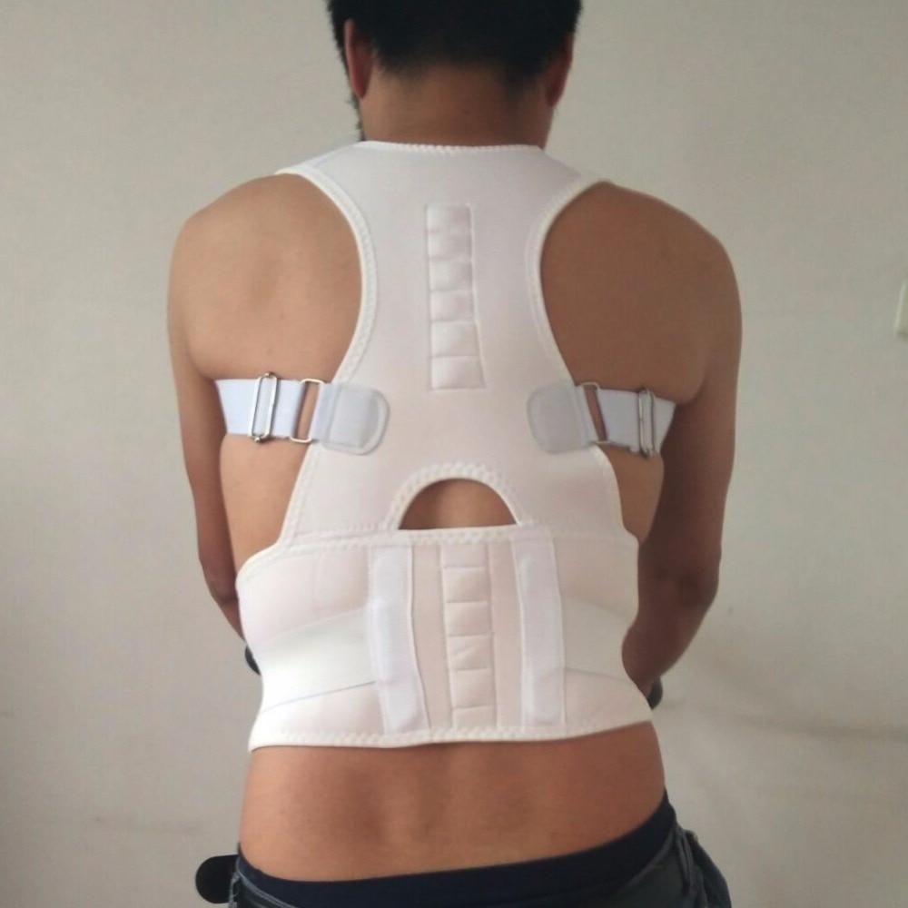 Adjustable Double Pull Magnetic Braces Belts Lower Back Support Belt for Women Men Posture Corrector Back Shoulder Support Belt