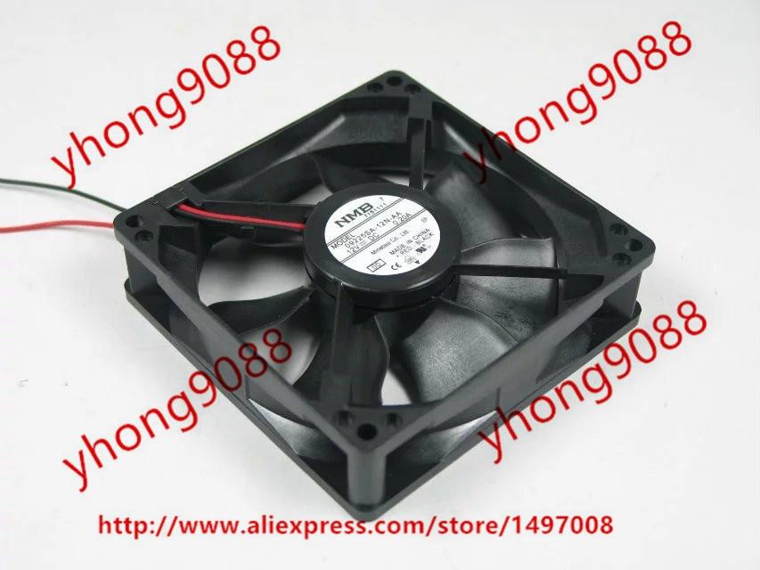 Free Shipping For NMB 09225SA-12N-AA 00 DC 12V 0.20A 2-wire 90x90x25mm Server Square Cooling Fan худи print bar new year gta v