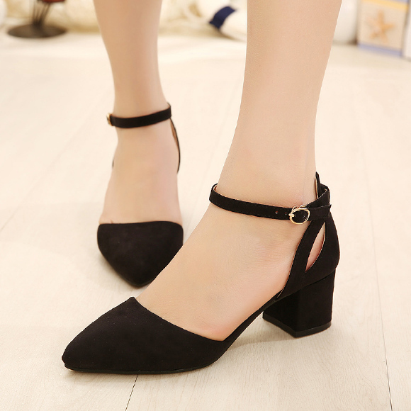 Low Price 2016 Brand New Sweet Sexy Ladies Pointed Toe Buckle ...