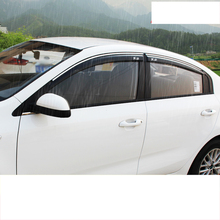 lsrtw2017 acylic car window rain shield for kia rio 2017 2018 2019 k2
