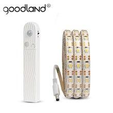 LED Strip Ligh Kitchen Motion Sensor Cabinet Light Waterproof Wardrobe Light Battery LED Armario for Closet Bedroom Night Light
