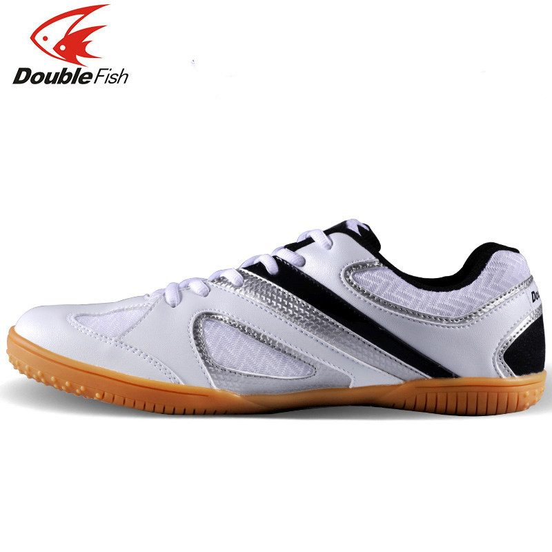 New Arrival DOUBLE FISH DF 838 table tennis Shoes For Men Women Breathable Anti slippery ping pong Sneakers-in Table tennis shoes from Sports & Entertainment    2