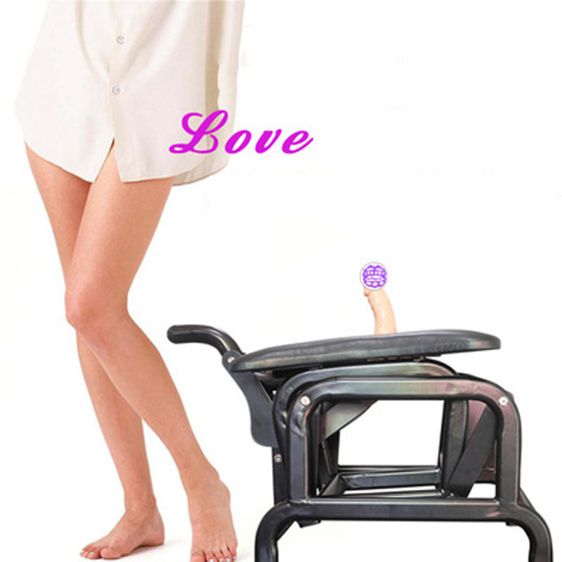 Chair Adult Game Sex Chair Dido-Flying Bird Strong Metal Frame 15-20cm Telescopic Distance Sex Machine Furniture Toys SexShop