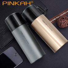 PINKAH 370ml & 500ml Thermos Bottle 304 Stainless Steel Vacuum Flask Portable Travel Outdoor Coffee Mugs School Thermal