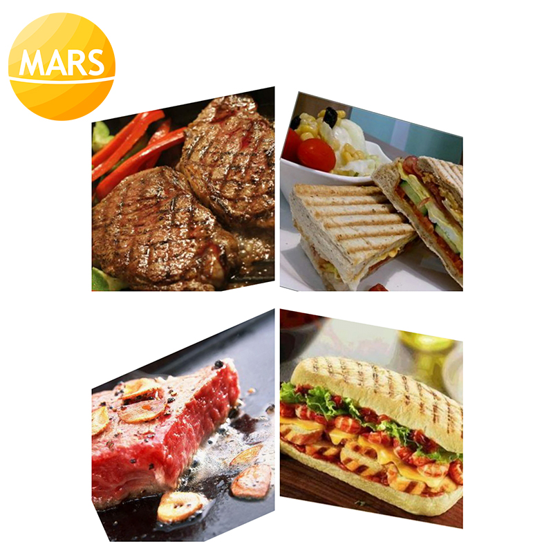 58845a0fb49 MARS 2 Plates Panini Sandwich Maker Electric Panini Griddle  Panini ...