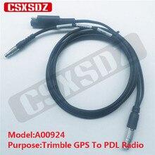 Trimble gps RTK кабель питания для 4700 4800 5700 5800 R7 R8 R10 к PDL HPB радио A00924 разъемов FGG 1B 5pin для 0B 7pin к 2р