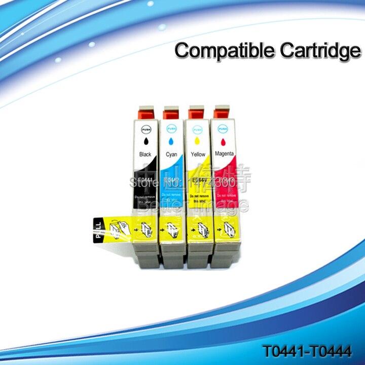T0441-T0444 T0441-T0454 Kompatibel tintenpatrone für Stylus C64 C66 C84 C84N C84WN C86...