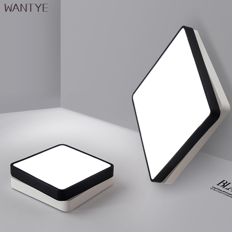 Surface Mounted LED Square Ceiling Light Indoor Lighting Ceiling Lamp Modern Fixtures Bedroom Study room Acrylic light vemma acrylic minimalist modern led ceiling lamps kitchen bathroom bedroom balcony corridor lamp lighting study