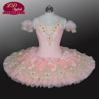 Adult Pink Professional Ballet Tutu Costumes The Sleeping Beauty Performance Competition Stage Wear Girls Ballet Dresses