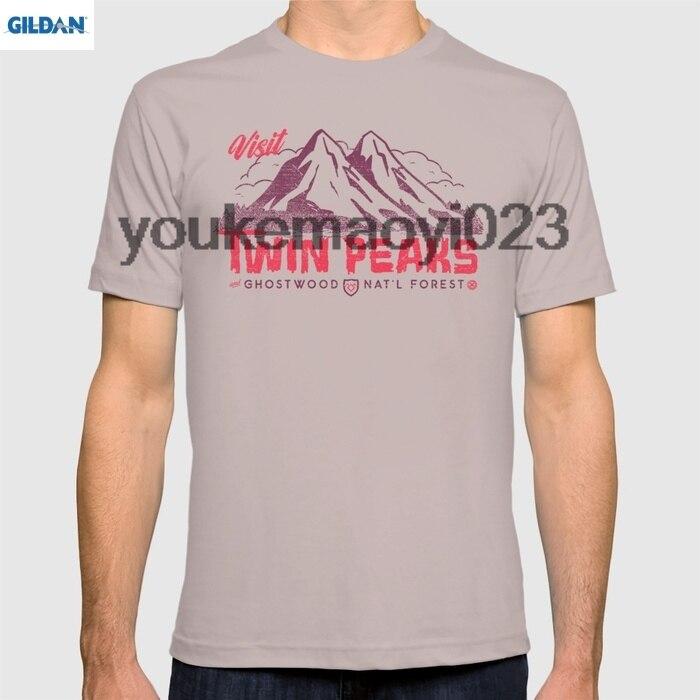 GILDAN Visit Twin Peaks for men t shirt