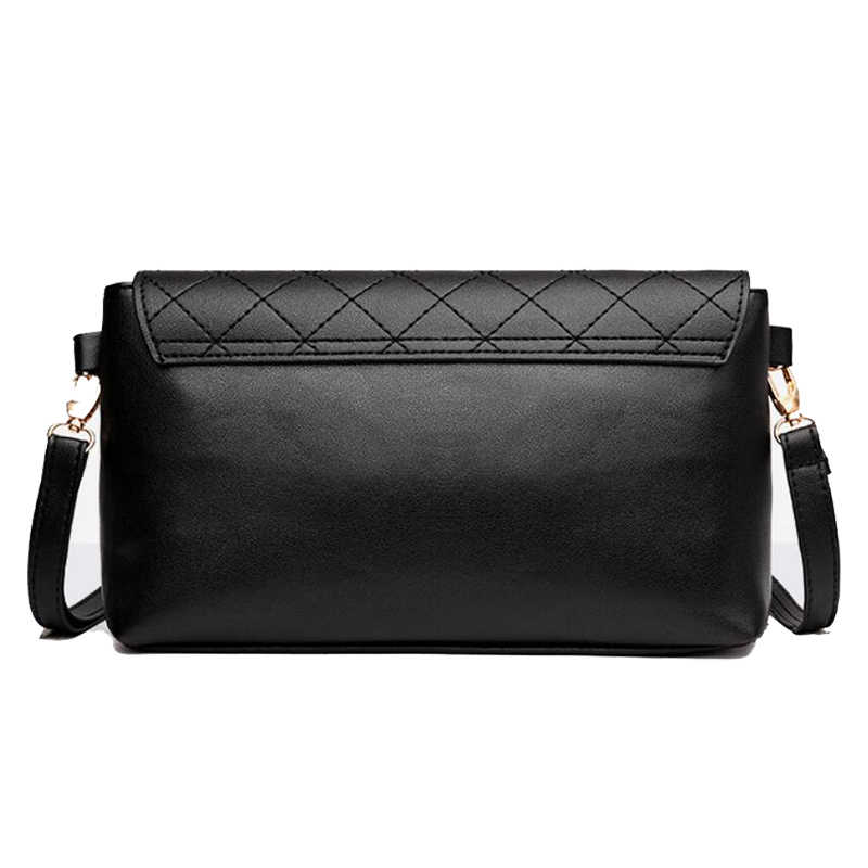 Classics Women's High Quality Flap Bag PU Leather Shoulder Bags Luxury Heart Brand Square Plaid Bag Mini handbags Ladies Purse