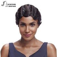 Joedir Hair Brazilian Remy Hair Wavy Short Human Hair Bob Wigs For Women Color 1B T1B27 TT99J350 8.5inch Free Shipping