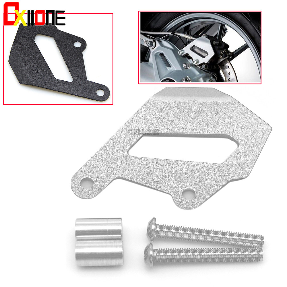 Motorcycle Aluminum Alloy Rear Brake Caliper Protector Cover Guard For <font><b>BMW</b></font> R 1200R LC 2015-2016 For <font><b>BMW</b></font> R <font><b>1200RS</b></font> LC 2015-2016 image