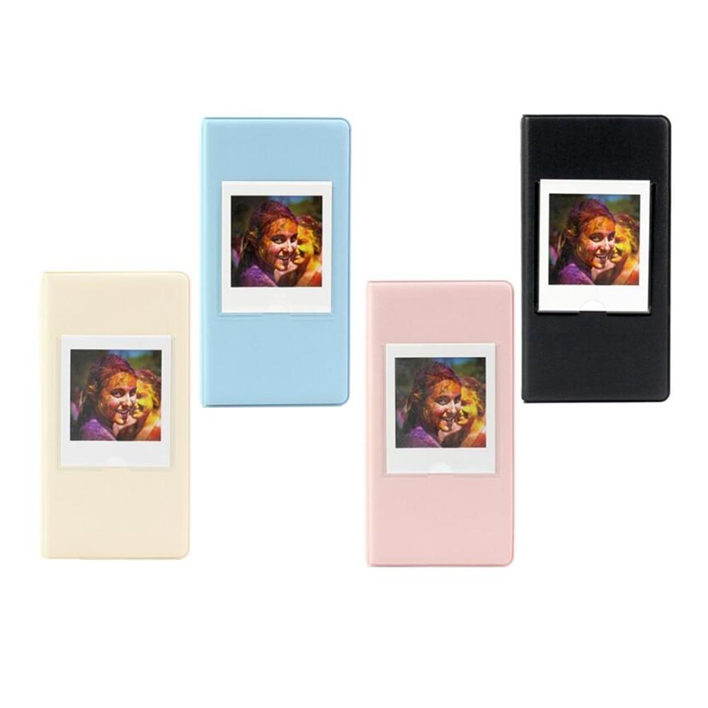 цена на 64 Pockets Mini Instant Photo Album Picture Case Storage for Instax Square SQ10 SP3 Korea instax mini album