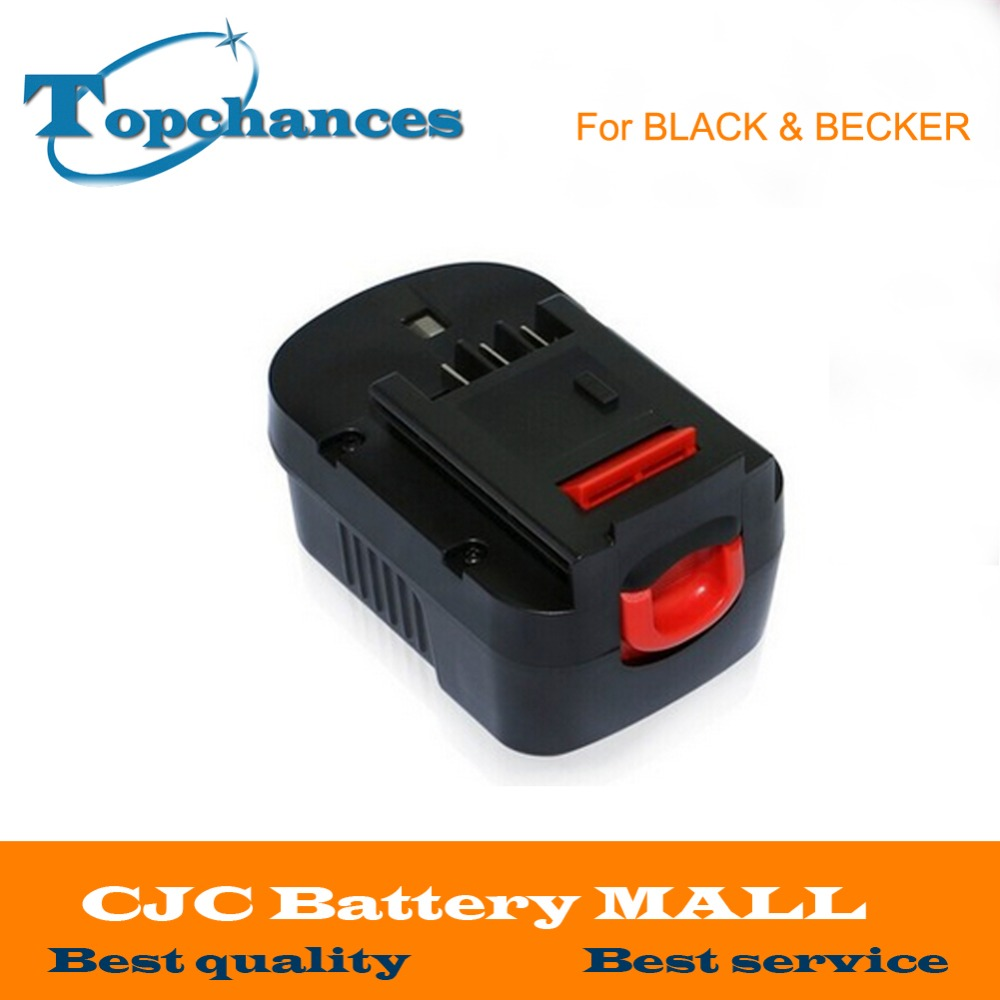 <font><b>14.4V</b></font> 2.0Ah NI-CD Replacement Power Tool Battery For Black&Decker 499936-34, 499936-35, A144, A144EX, A14, A14F, HPB14 image